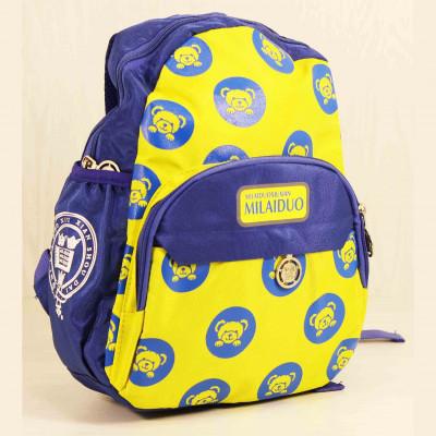 Детские Дошкольные рюкзаки Milaiduo 0394 BLUE_Yellow