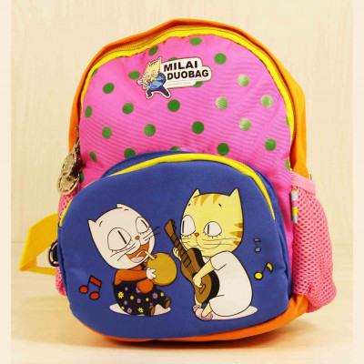 Детские Дошкольные рюкзаки Milaiduo 0610 Orange_Blue