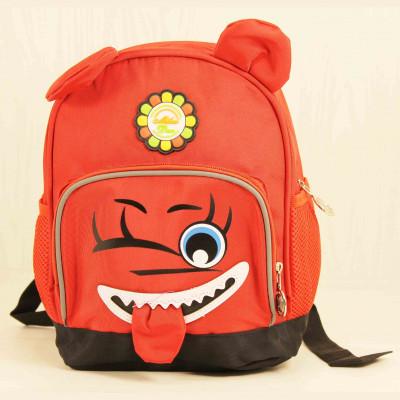 Детские Дошкольные рюкзаки Milaiduo 0620 Red_Black