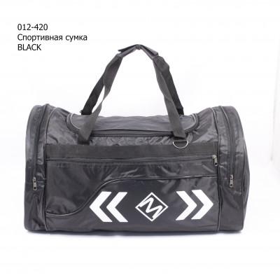 012-420 Спортивная сумка Black