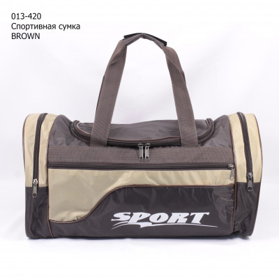 013-420 Спортивная сумка BROWN