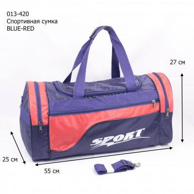013-420 Спортивная сумка BLUE-RED