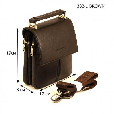 Мужская сумка Bradford 382-1 BROWN