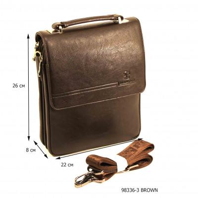Мужская сумка Bradford 98336-3 BROWN