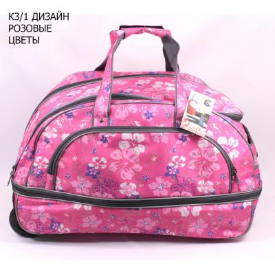 K3/1 DESIGN PINK FLOWERS