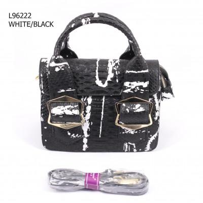 L.Dannisi L96222 WHITE/BLACK