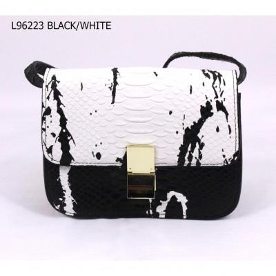 L.Dannisi L96223 BLACK/WHITE