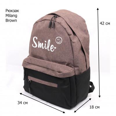 MILANG SMAILE-2 Brown/BLACK