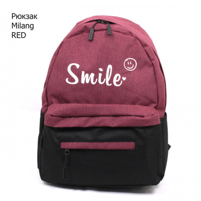 MILANG  SMAILE-2 RED/BLACK