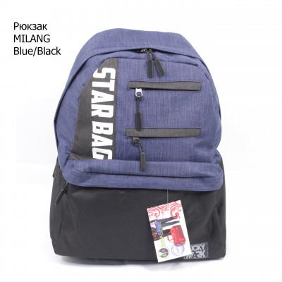 """MILANG """"STARBAG"""" Blue/BLACK"""